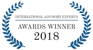 International Advisory Experts Awards Winner 2018
